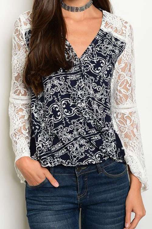 T32139 - Long Sleeve Top