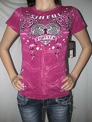 Sinful S2710 - Sinful Forever Short  Sleeve Baby Tee