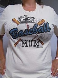 Pink Armadillo - Baseball Mom