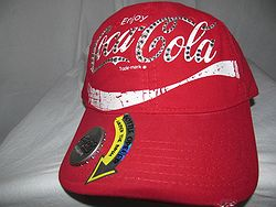 Coca Cola Bling Hat