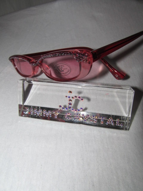 Jimmy Crystal GL637 - Pink Bling Sunglasses