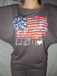 ATX Mafia - Land That I Love -  Bella Fit Shirt