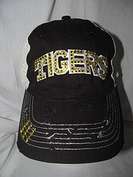 Tigers Bling Black Trucker Hat