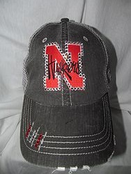 Nebraska Huskers Bling Trucker Hat