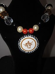 Custom Bling Necklaces - UT Chunky Necklace