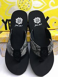 Yellow Box Yamita  - Black Flip Flops