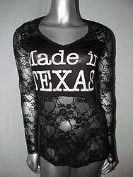 Vocal #V10185 - Long Sleeve Made In Texas Top