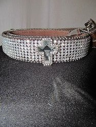 Belt # 11 - Brown Bling Belt