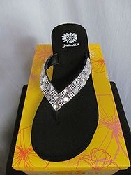 Yellow Box Tayla - Black Flip Flops