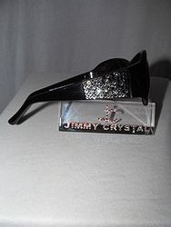 Jimmy Crystal GL1158A - Black  Bling Sunglasses