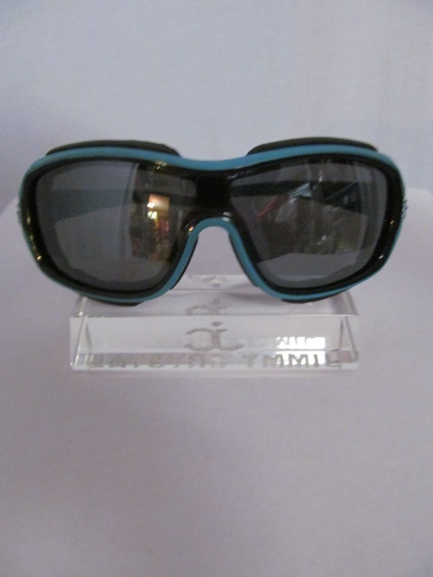 Jimmy Crystal GL1188Blue - Blue Frame Riding Sunglasses
