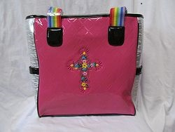 Fashion Bags - Pink Tote Bag
