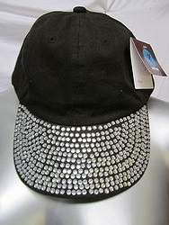 Black Bling Hat