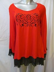 RED3391 - Gameday Tunic Top