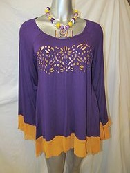 PUR3391 - Gameday Tunic Top