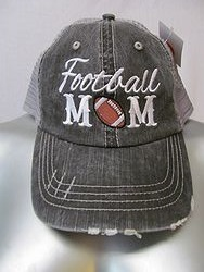 Katydid - Football Mom - Grey Football Mom Hat