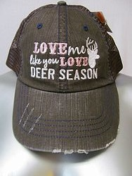 Katydid - Love me Like You Love Deer Season - Brown Hat