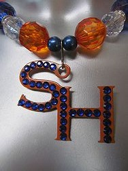 Custom Bling Necklaces - Sam-Houston - Chunky Necklace