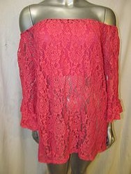 20399 - Fuschia Lace Top