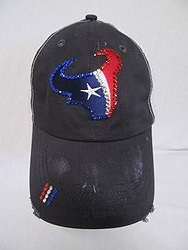 Texans Custom Bling Trucker Hat