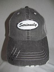 Seriously Custom Bling Trucker Cap