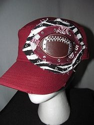 Custom Bling Hat - A&M Football Cadet Hat