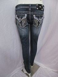 JP5082B57 Miss Me Boot Cut Denim Jeans