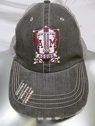 Custom Bling Hat - A&M Bling Trucker Hat