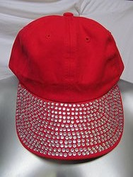 Red Bling Hat